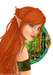 Forest elf by Paine-MoonG