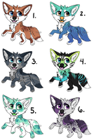 [OPEN] Jumping Pupper Adopts by Starrypoke