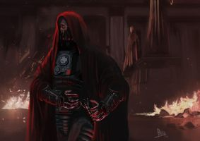 Darth Malgus by aliburc