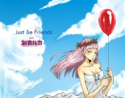 just be friends megurine luka by CottonCandyStar
