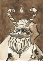 Monster Portrait: Ol' Saint Nick by theghostboat