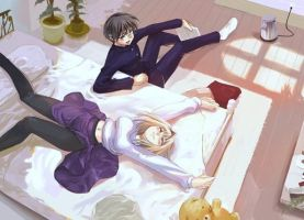 After-School Rest by tane99
