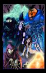 Groovy Girls and Ghouls by ChadGrimm