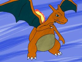 Draco the Charizard by Glen-i