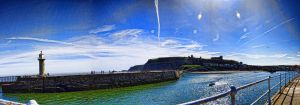 Whitby Peir by maximusmountain
