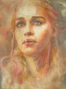 khaleesi games of thrones by AnnarXy