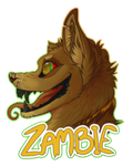 Zambie Badge by Cakeindafridge