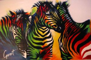 zebras by gerartist