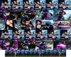 Gothic Juri SFV by bbbSFXT
