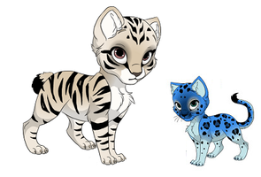 Kitties that i bought ^_^ by KnivesandPencils