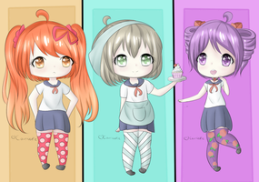 Yandere Simulator Chibi Rivals Part 1 by CourtiePie567