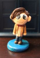 Chibi Eleventh Doctor by comicalclare