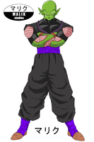 Sage Namek Piccolo by MalikStudios