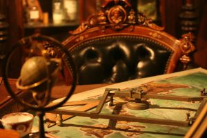 Cartographer's Desk by kucingitem