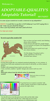 MS Paint Adoptable Tutorial: PART 2 by Adoptable-Quality