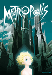 Metropolis - Anime vector by elclon