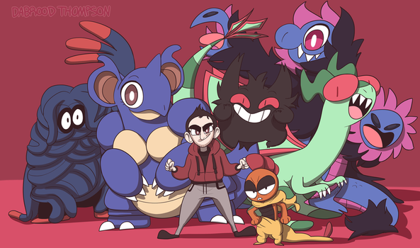 My Favorite Pokemon by DabroodThompson