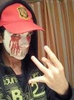 Cosplay de J-Dog de Hollywood Undead by Garci-The-Raccoon