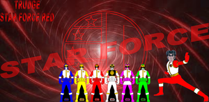 ROTDS Star Force Red Trudge by rangeranime