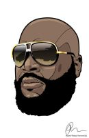 Rick Ross by Rolsey