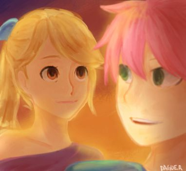 The way she looks at him by DaguerVM