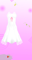 MMD Nxja Long white dress Download by 9844