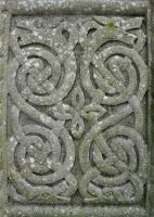 Celtic Cross Detail by Navanna