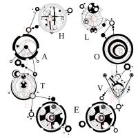 Love Hate Gallifreyan by IkaikaDesign