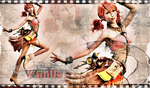 Vanille Final Fantasy by BetthinaRedfield