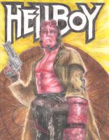Hellboy by smjblessing