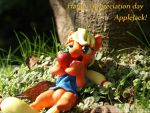 Happy Appreciation Day Applejack! by dustysculptures