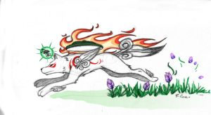 Amaterasu by rongs1234