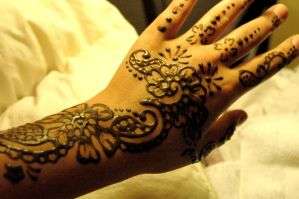 Full hand henna by catty01