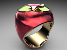 Apple of my Eye - Ring by jsbarron
