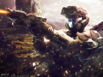 Halo Wallpaper by Dhencod