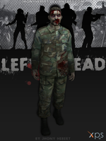 Military Zombie - Left 4 Dead by JhonyHebert