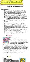 ST Extras - Sinnoh Trio Notes by Gorsecloud