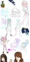 MSketches by colorwonders