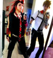KH Casual Cosplay Progress II by Kikiyaa
