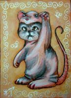 Chinese Zodiac Kitty - RAT by BlackAngel-Diana