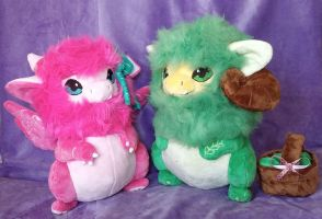 Yimin Plushies :Commission: by AppleDew