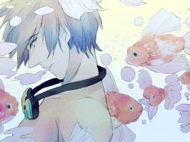 Makoto's Goldenfish by Breetroad
