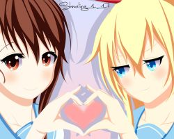 Nisekoi: Chitoge y Onodera by Shmeling177