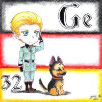 Hetalia Germanium by Cisol