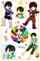 chibi RYO stickers ::MV:: by Xiazi