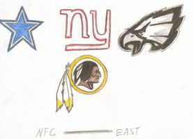 The NFL Project - NFC East by J-Mac09