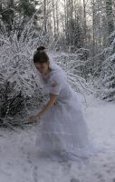 Bride in the snow 6 by Eirian-stock