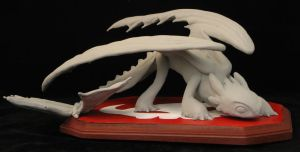 Toothless Maquette by Ariel523