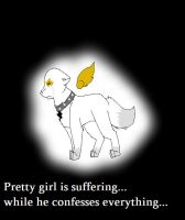 Pretty girl is suffering by comptonja
