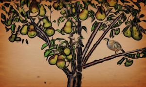 A Partridge in a Pear Tree by hallbe